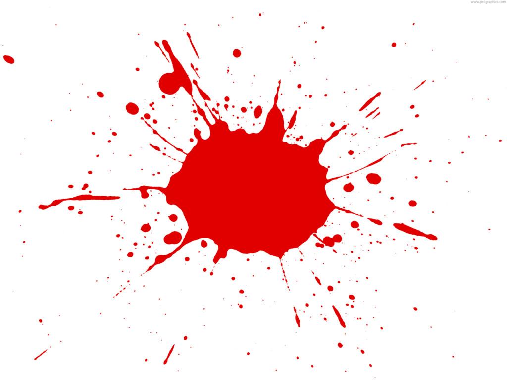 red paint splatter psd