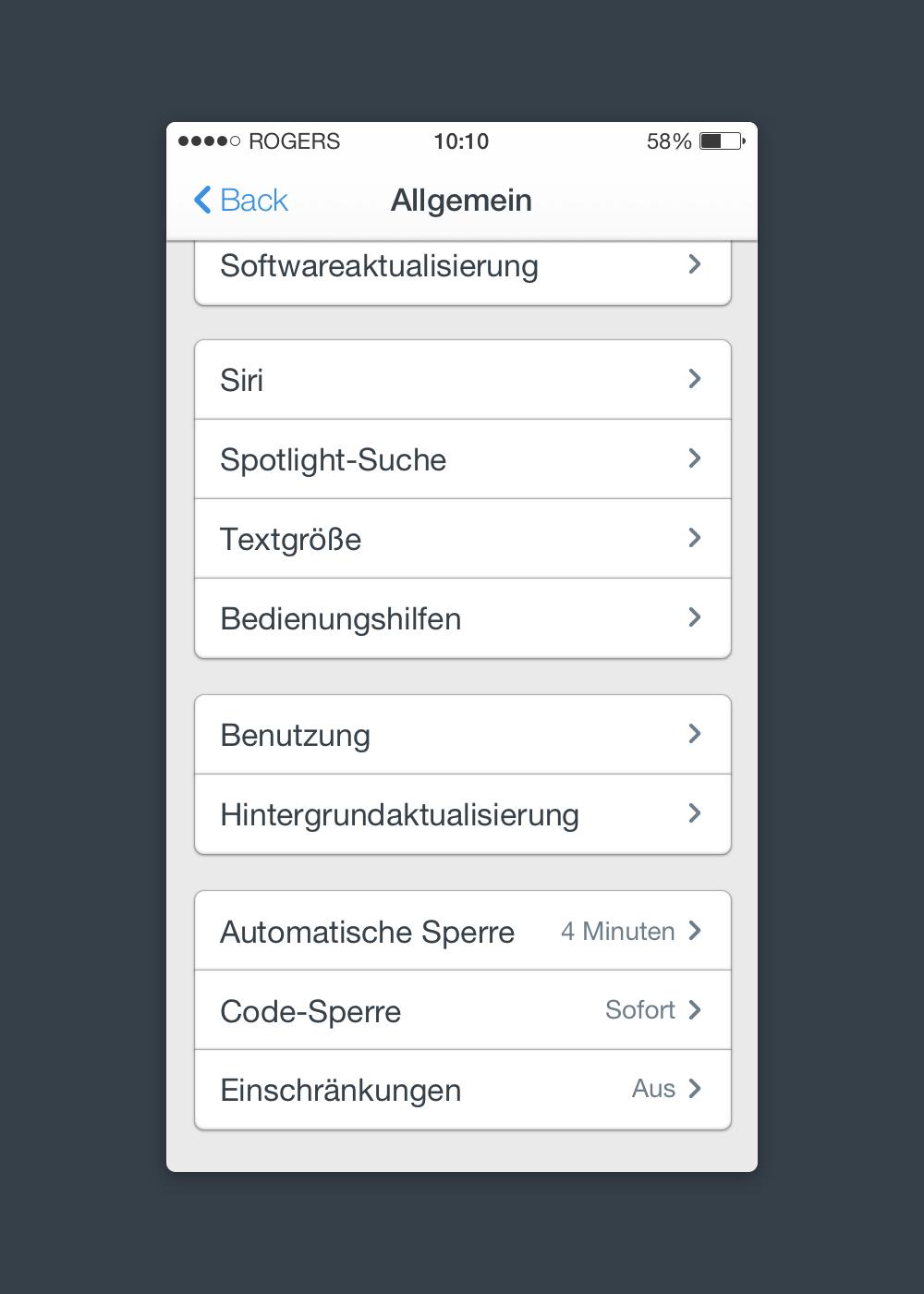 Apple IOS 7 UI Design Free PSD
