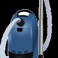 Blue cartoon cleaning tool,vacuum vector