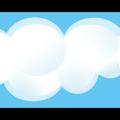 Blue sky & cloud cumulus free vector