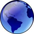 Bluish Earth vector