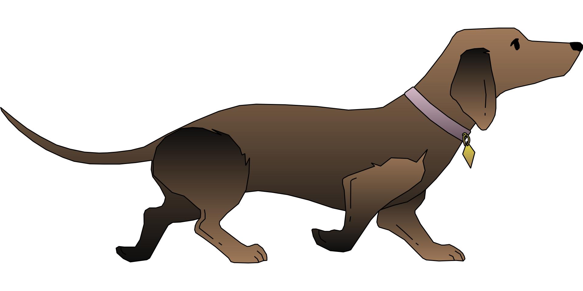 Brown cartoon animal,pet dog vector