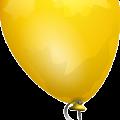 Cartoon Yellow Balloon Vector