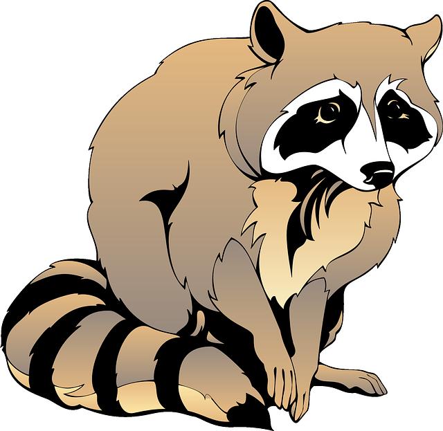 Cartoon animal- fox free vector