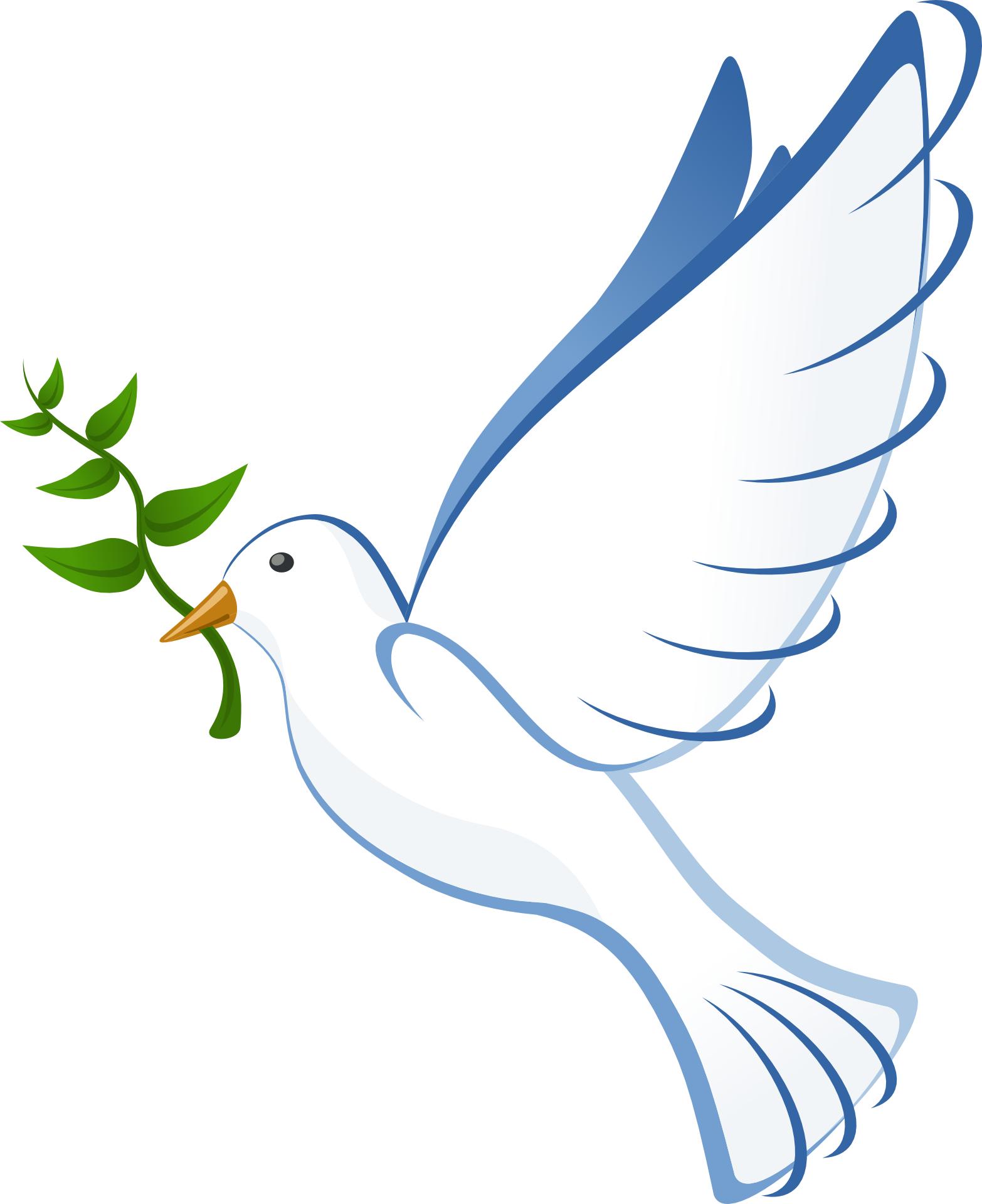 Dove bird peace sign - photo#1