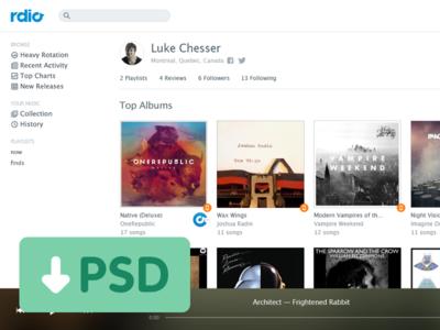Creative UI Free PSD