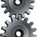 Free gray gear vector