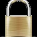 Free padlock vector