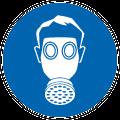 Gas Mask Symbol Free vector