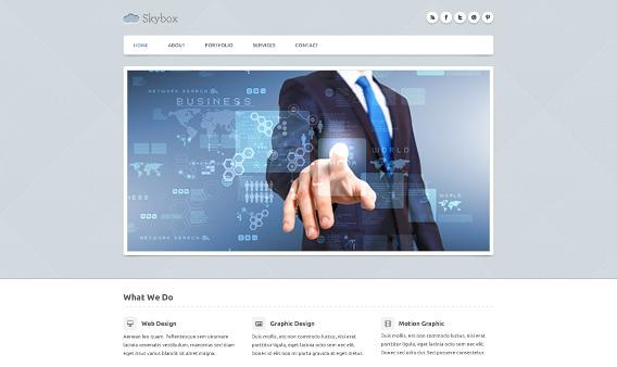 PSD Template-Responsive Free WordPress Theme