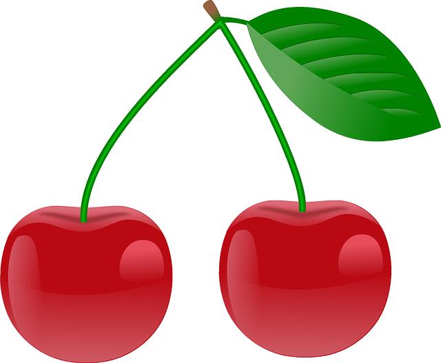 Red Cherries free vector