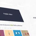 Wordpress Portfolio Theme Free PSD