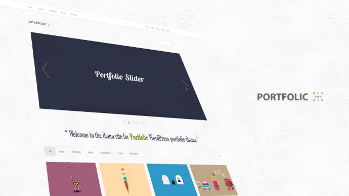 WordPress Portfolio Theme Free PSD | Free PSD,Vector,Icons