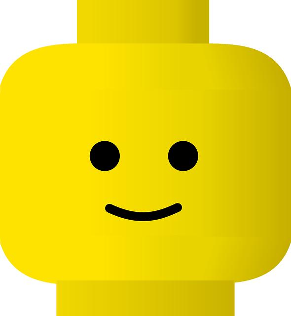 Yellow cartoon face
