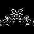 black white elements - art decorative vector