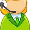 call center -symbol of Customer service agents vector