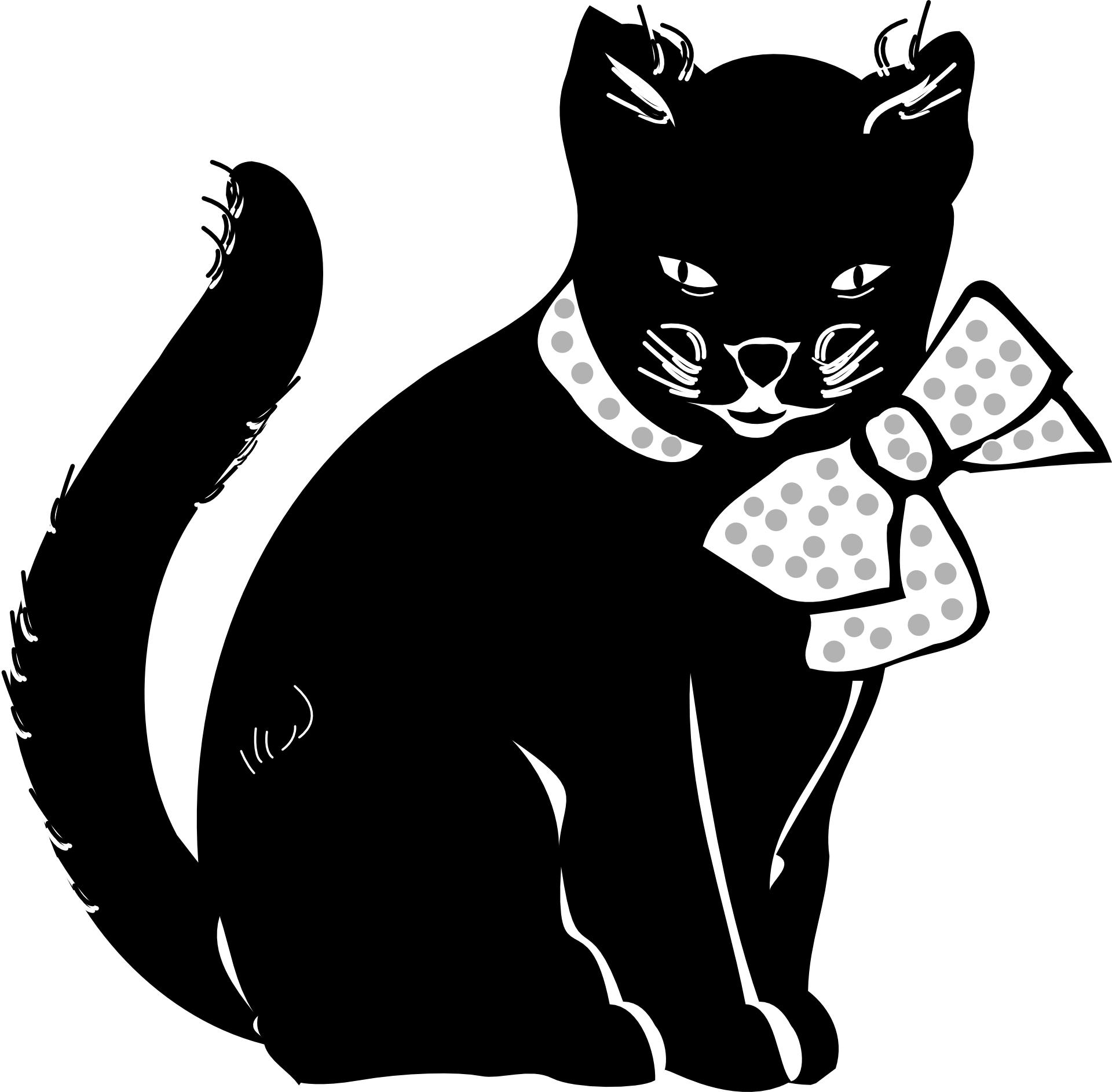 Black Cat Cartoon Images