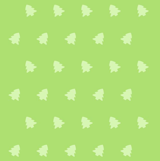 Cartoon green icon pattern vector
