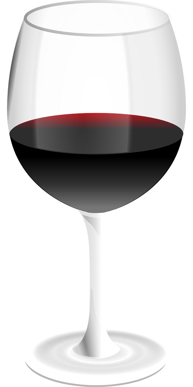Cartoon vector-wine glass