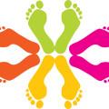 cartoon,footprints vector