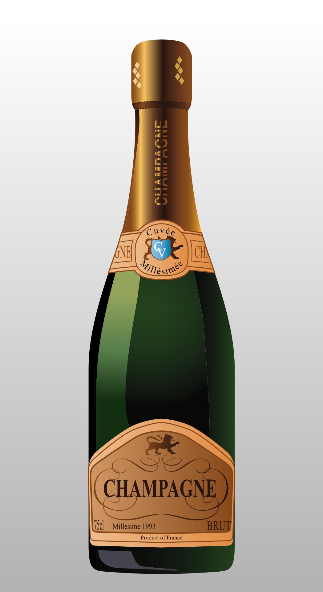 champagne vector,bottle,drink