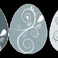eggs decorative pattern free vector