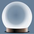 magic glass crystal ball free vector