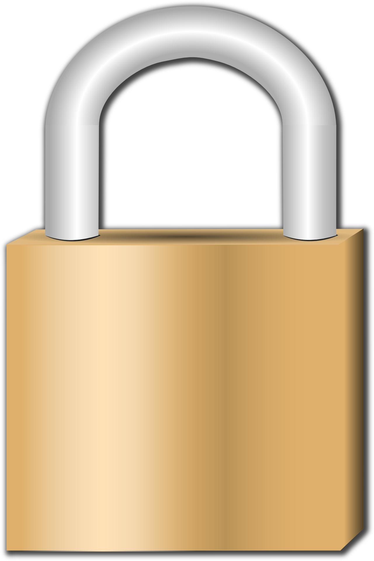 safety lock icon vector