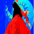 tango dancing,drawing vector