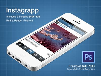 Apple iphone Free PSD