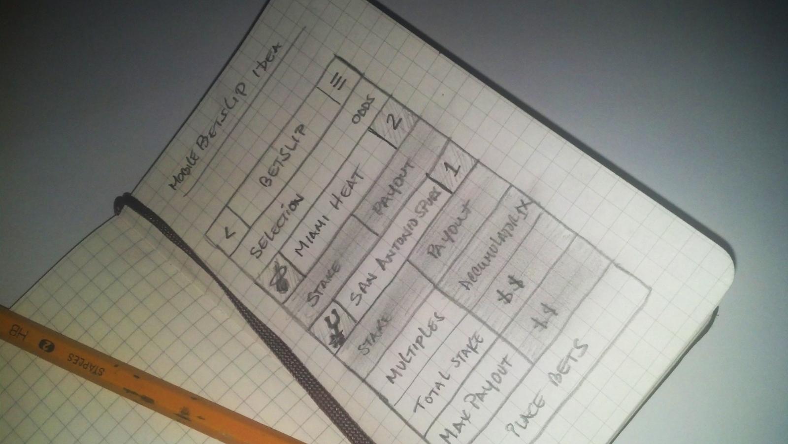 Flat Design Sketch For Free