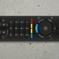 Free Illustrator file of SONY TV remote