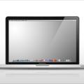 Free Macbook Pro Template PSD