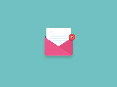 Free Mail Icon,invite PSD