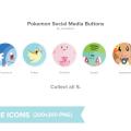 Free Pokemon Social Round Icons
