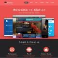 Free Single Page PSD Web Template