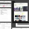 Free iOS 7 iPad GUI Design Vector -preview
