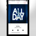 Freebie-Ios 7 iTunes Radio Player PSD