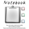 Freebie-Simple Notebook PSD