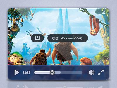 Freebie-UI Design of Media Player PSD