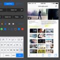 Freebie-iOS 7 iPhone GUI elements vector