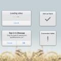 GUI Design-Alert label Free PSD