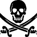 symbol of black skull