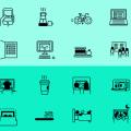 Life icons Free Vector (ai)