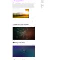 PSD Blog template-Simple Minimalistic Style