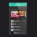 iOS,Iphone,Music Player APP UI Design PSD