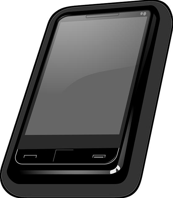 Cell-phone screen icon vector