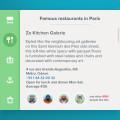 APP UI Design-Restaraunt Widget PSD