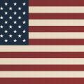 Free America Flag Halftoned Wallpaper