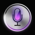 Free Apple ios Siri icon PSD